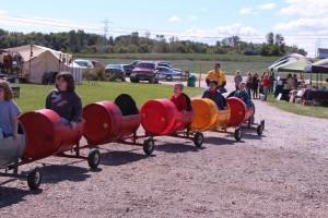 2015 Festivbal Barrel Train