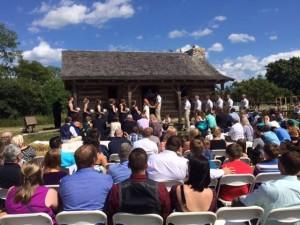 August 1 wedding